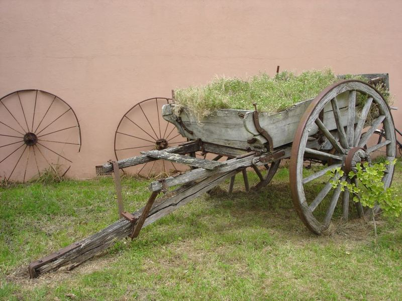 Wheel old....