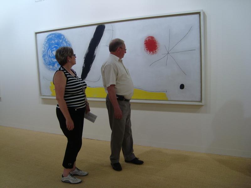 When humans and art meet