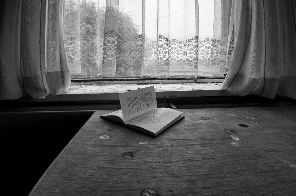 When life ends, only the words written in books remain