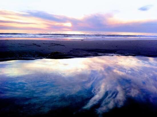 When ocean meet sky :-)