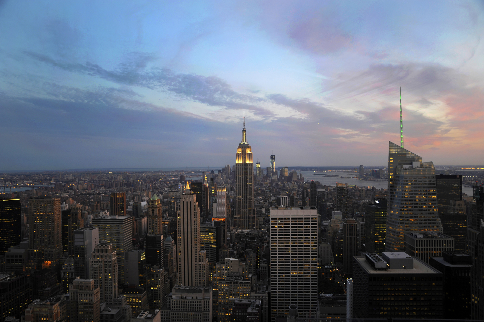 When the sun goes down in NYC...