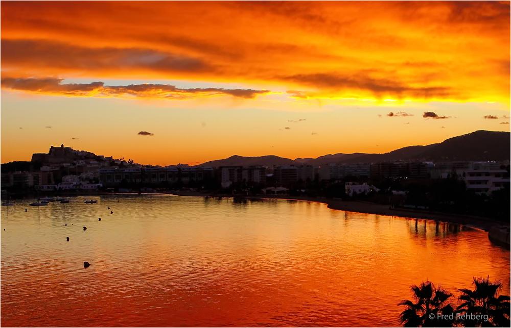 … when the sun sets