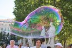 Where is this bubble floating?