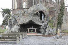 Where the church has already become a ruin