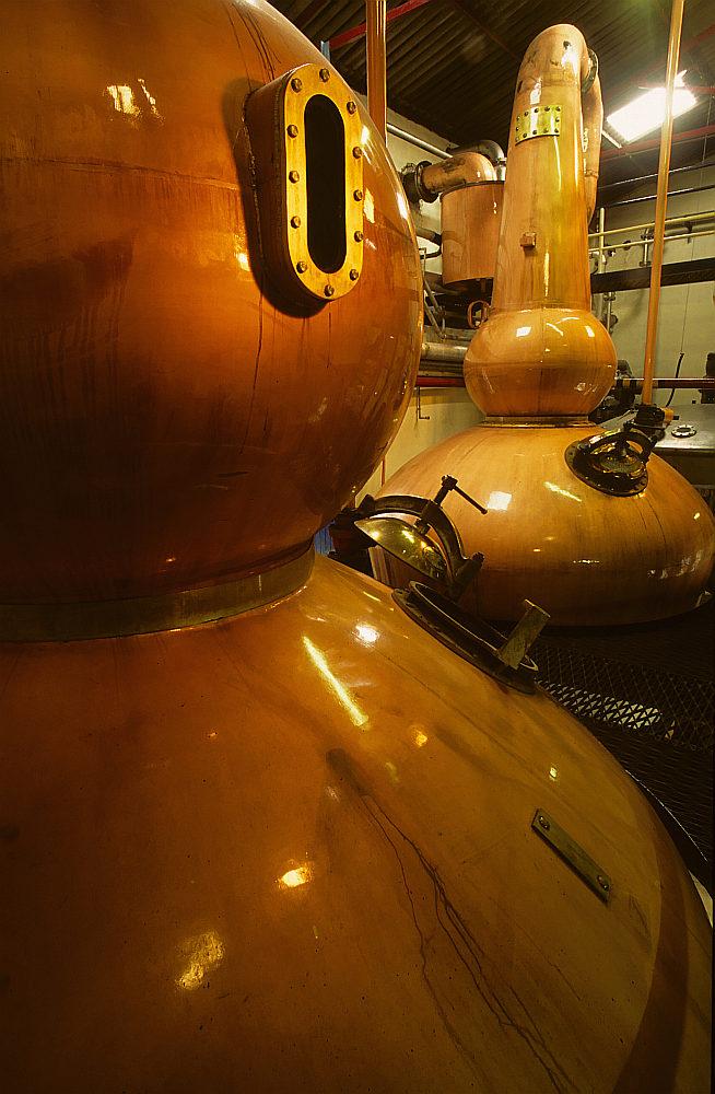 Whisky: Balblair Distillery / Stills