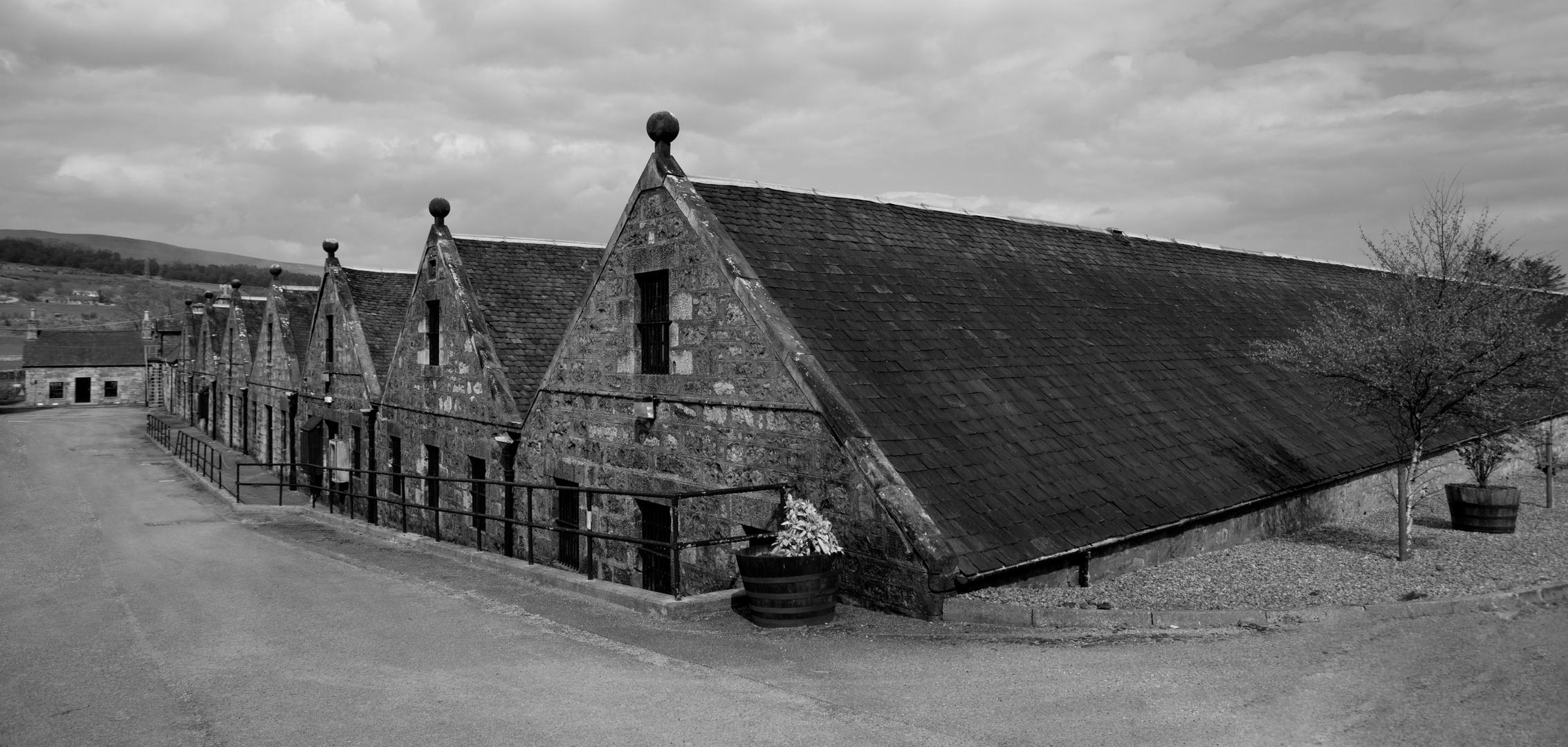 Whisky-Lager  von Clynelish Distillery