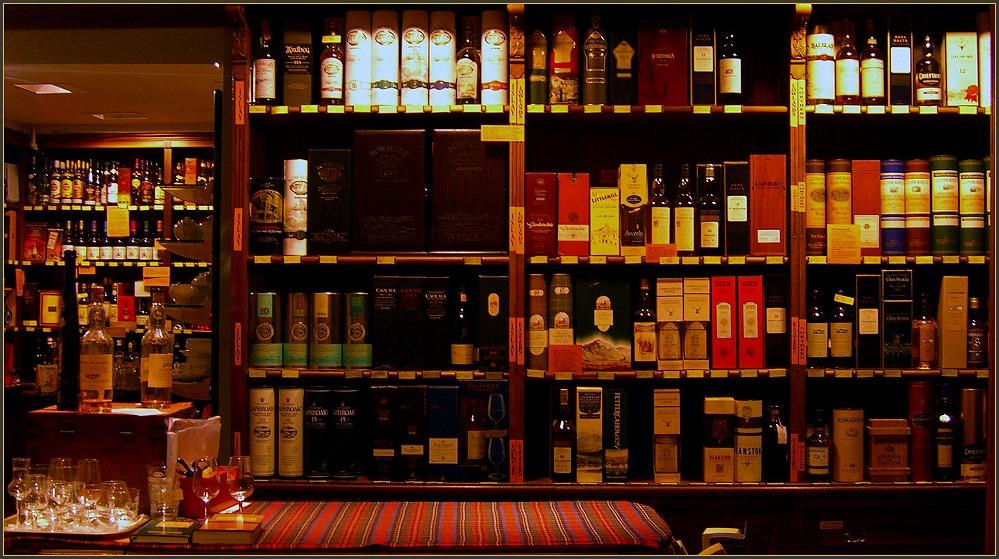 Whisky, Whiskey und alles für den Düdelü ...