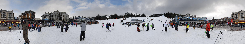 Whistler 360° - Skifahren bis auf den Marktplatz