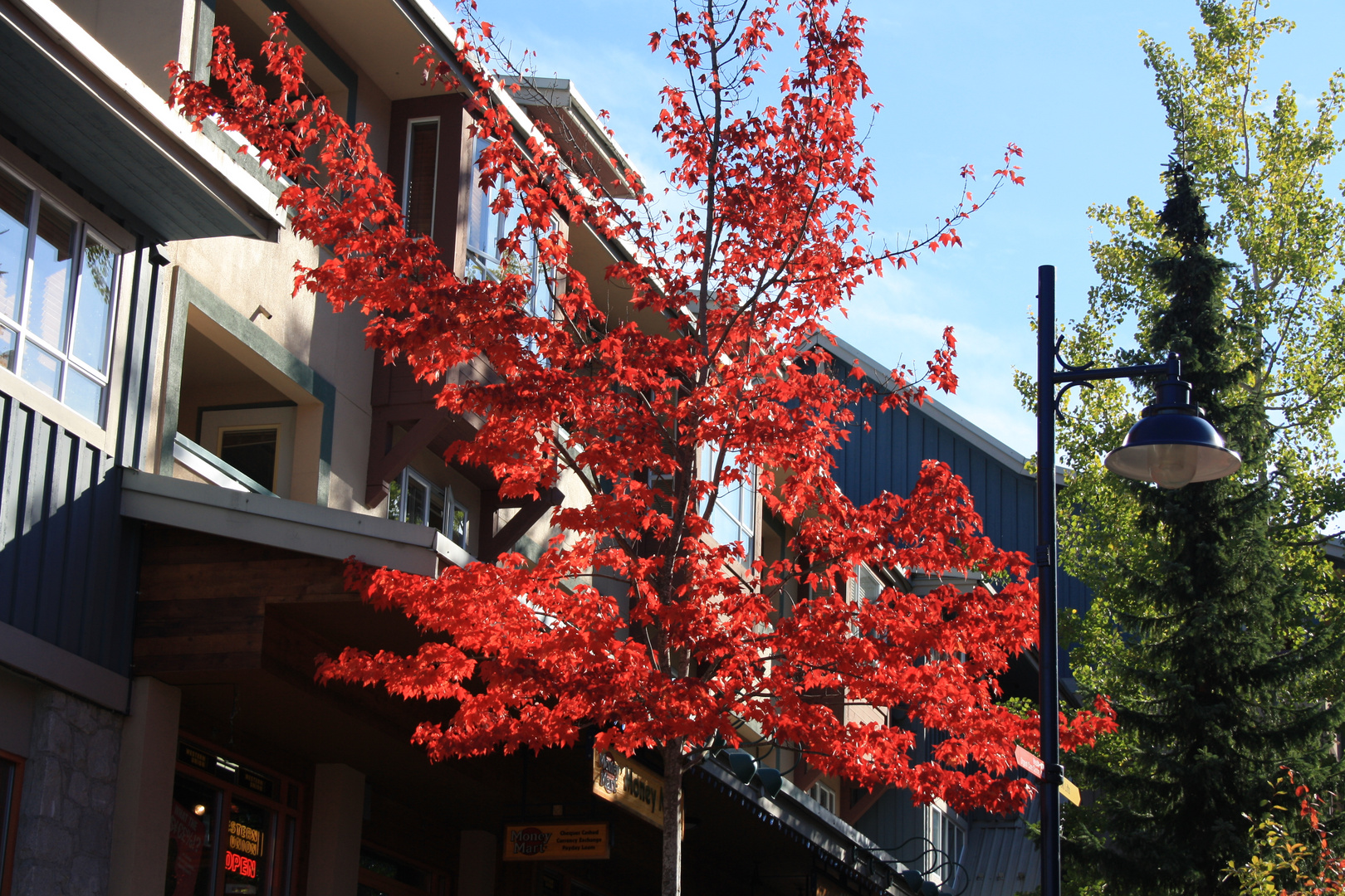 Whistler ende Oktober