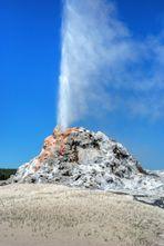 White Dome im Yellowstone NP