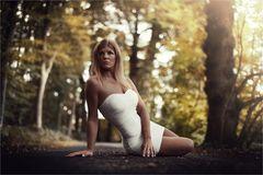 * white dress *