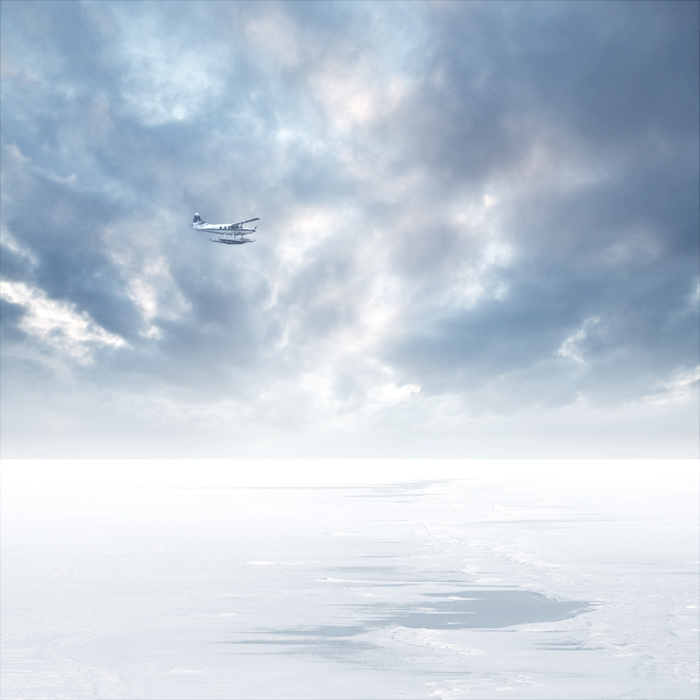 White horizon