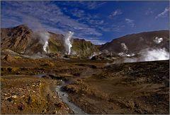 white island - an active marine volcano