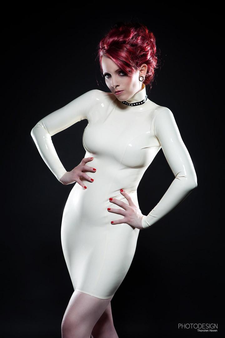 White Latex Glamour Foto & Bild | fashion, studio, frauen
