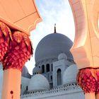 White majestic mosque