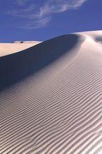 White Sands am Abend