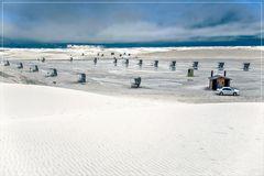 White Sands im Regen