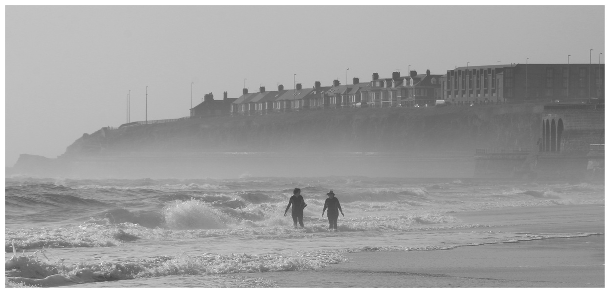 whitley bay 4 early morning
