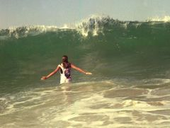 Who's afraid of a 3 meter wave ?