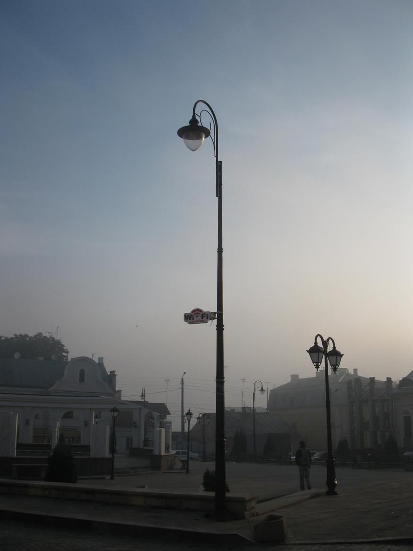 Wi-Fi or foggy morning