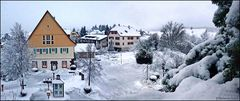 Wie das eben im Winter so bei uns im Nordschwarzwald  ist ...