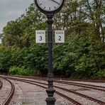 Wie dazumal - Bahnhofsuhr