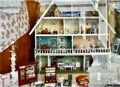 # wie dazumal: das Puppenhaus #