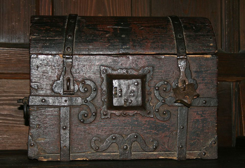 Wie Dazumal - ein Koffer