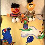 Wie dazumal... Ernie und Bert...