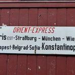 wie dazumal - Fahrt mit dem Orient-Express