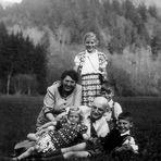 *wie dazumal*  -  Familienausflug 1954