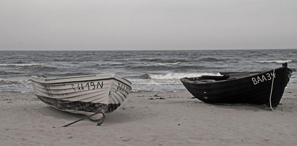 Wie Dazumal - Fischerboote
