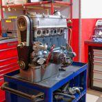 Wie Dazumal- Glas 1304 TS Motor...