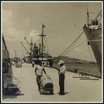 Wie Dazumal- Hafen in Liberia / Westafrika