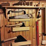 Wie dazumal Holz bearbeitet wurde