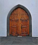 Wie Dazumal -Kirchentür