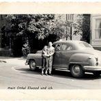 wie Dazumal - mein Onkel Elwood und ich.... und meine 1. Jeans