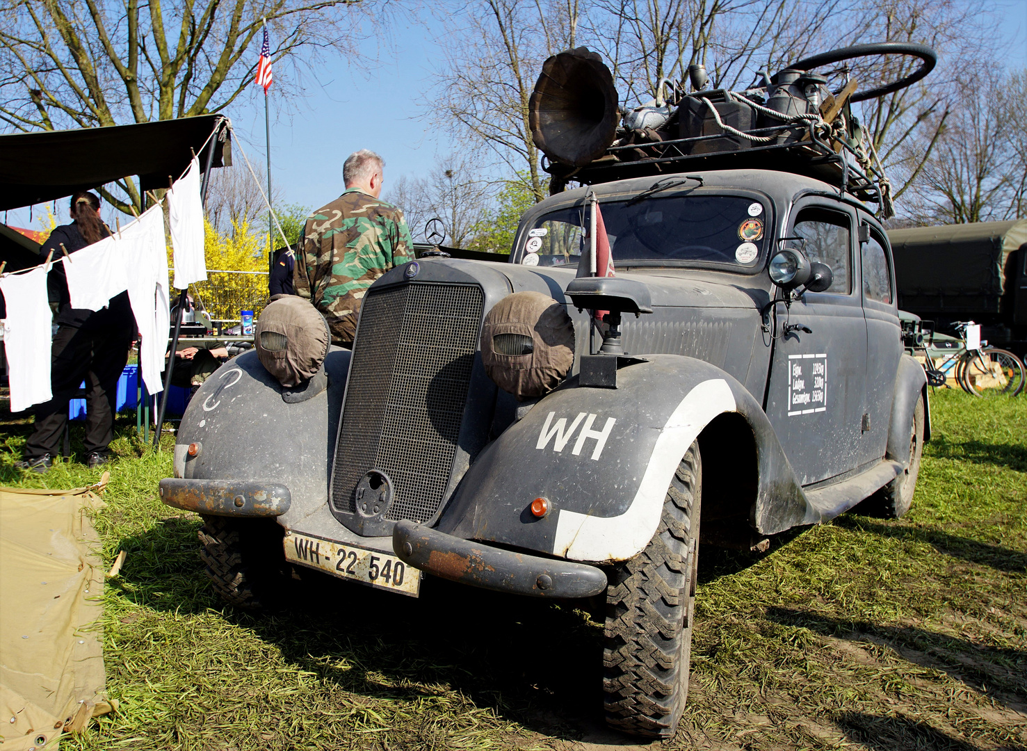 """Wie Dazumal -  Mercedes 170 der """"Wehrmacht""""..."""