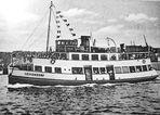 "wie dazumal..... Motorschiff ""Heikendorf"", Kiel,  Baujahr 1934"