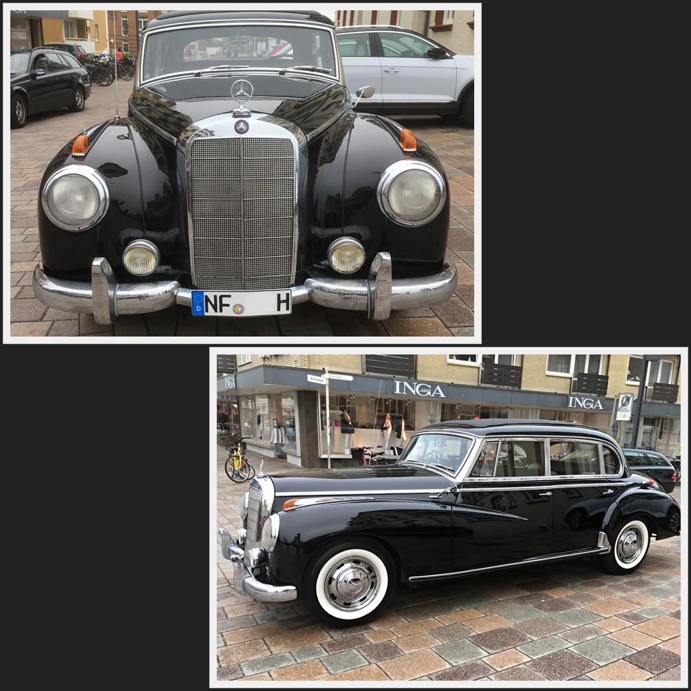 wie dazumal - Oldtimer - Mercedes