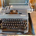 wie dazumal - Olympia Schreibmaschine