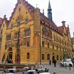 Wie dazumal :Rathaus Ulm  Archiv :25.4.2012