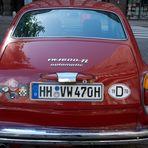 Wie dazumal VW 1600 Fließheck