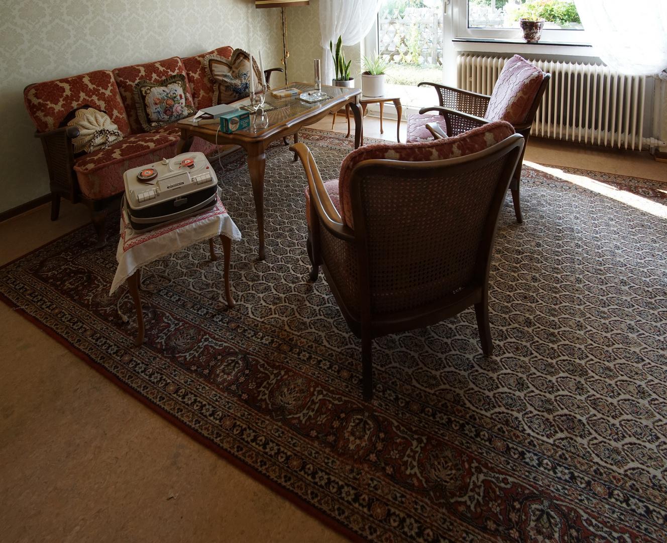 Wie dazumal - Wirtschaftswunder (6) Wohnzimmer aus den 60er Jahren ...