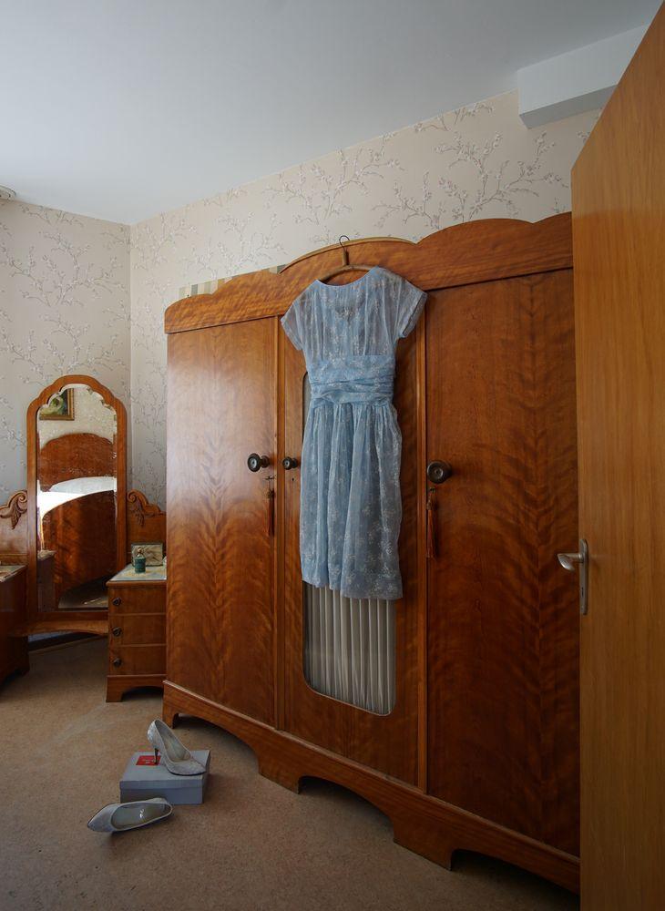 wie dazumal wirtschaftswunder schlafzimmer aus den 60ern foto bild deutsche geschichte. Black Bedroom Furniture Sets. Home Design Ideas
