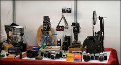 Wie Dazumal....Analoge Fotoausrüstung.
