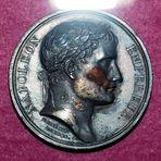 Wie dazumal....der gute alte Napoleon... auf der Münze ...