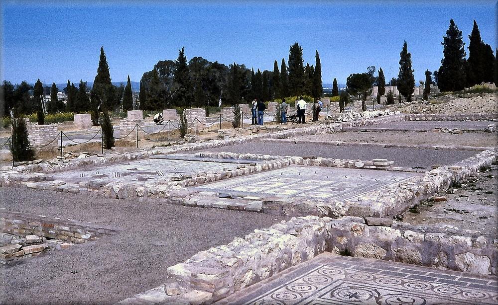Wie Dazumal....Italica...corso dei mosaici.