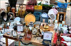 Wie Dazumal....mercatino dell`usato a Caparica.