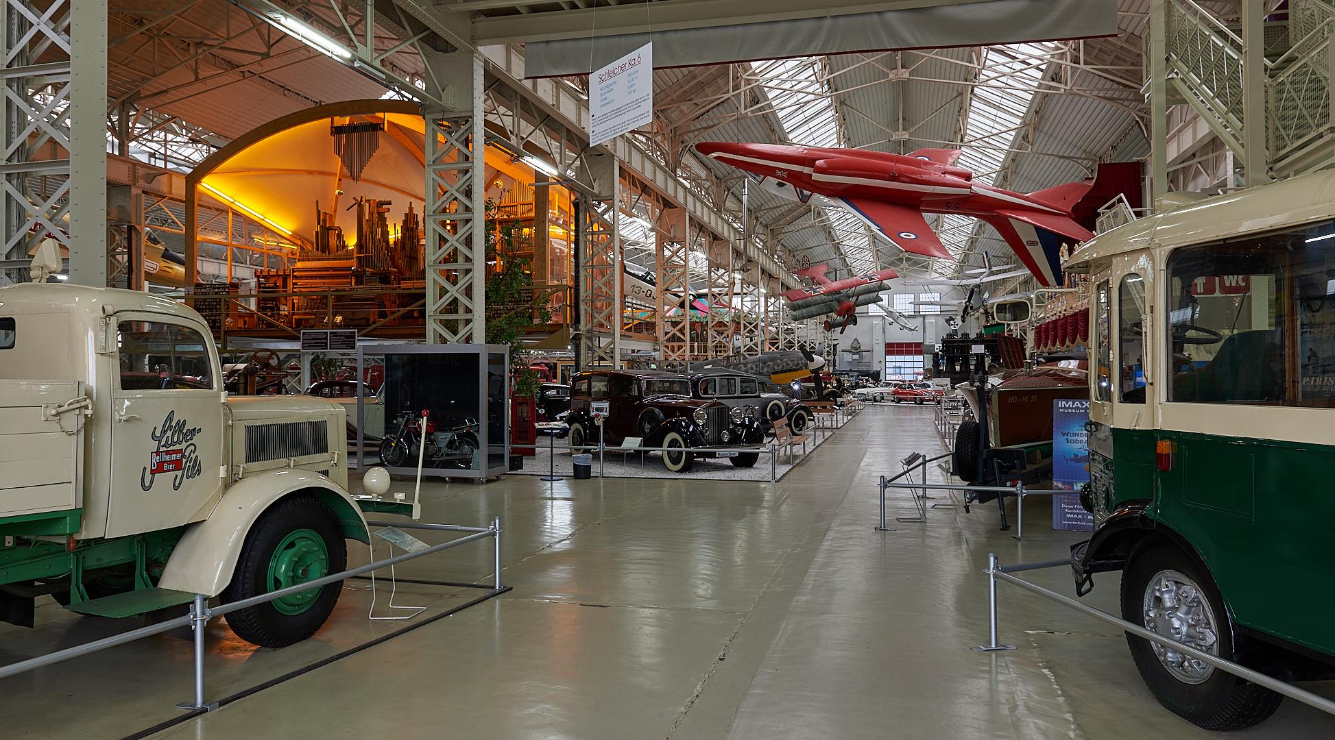 Wie Dazumal...Motive ohne Ende bekommt man im Technikmuseum in Speyer zu sehen.